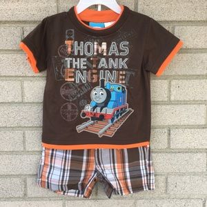 Thomas The Tank Boy's 2 Piece Outfit 18Mth